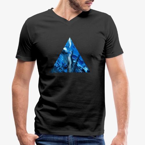 Bezsenna noc - Ekologiczna koszulka męska z dekoltem w serek Stanley & Stella
