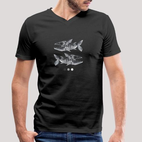 Fish05 - Men's Organic V-Neck T-Shirt by Stanley & Stella