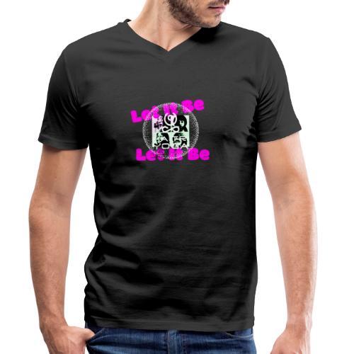 Let It Be MaitriYoga - T-shirt bio col V Stanley & Stella Homme