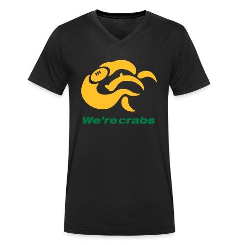 Crazycrab_Australia - T-shirt ecologica da uomo con scollo a V di Stanley & Stella