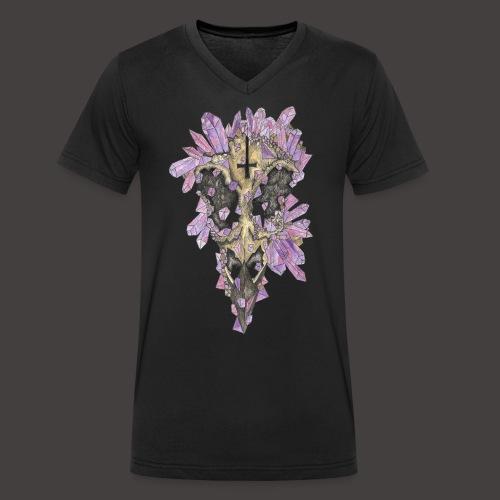Le Corbeau de Cristal Couleur - T-shirt bio col V Stanley & Stella Homme