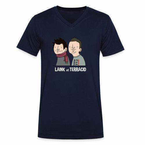 Laink et Terracid - T-shirt bio col V Stanley & Stella Homme