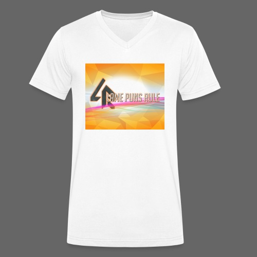 lpr mousepad png - Men's Organic V-Neck T-Shirt by Stanley & Stella