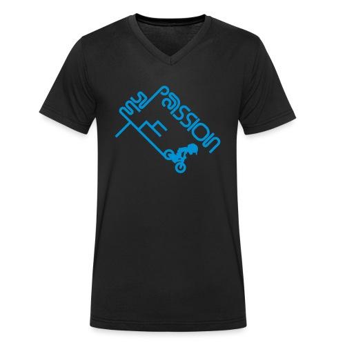 My Passion - Männer Bio-T-Shirt mit V-Ausschnitt von Stanley & Stella