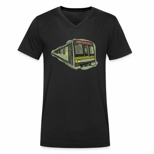 Urban convoy - T-shirt ecologica da uomo con scollo a V di Stanley & Stella
