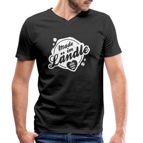 Made im Ländle - Männer Bio-T-Shirt mit V-Ausschnitt von Stanley & Stella