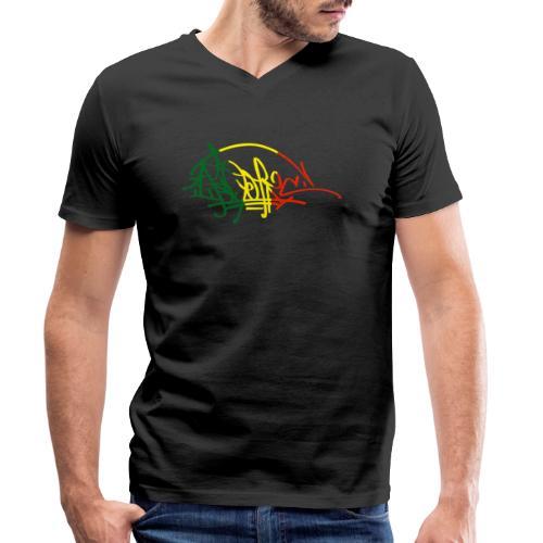 ikon vjr tag - T-shirt bio col V Stanley & Stella Homme