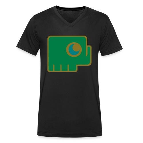 Elefant - Men's Organic V-Neck T-Shirt by Stanley & Stella