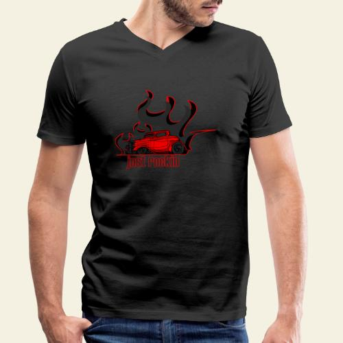 2window just rockin - Økologisk Stanley & Stella T-shirt med V-udskæring til herrer
