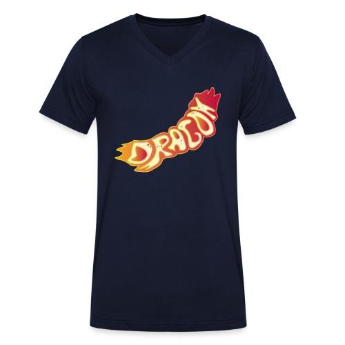 The Dragon - Männer Bio-T-Shirt mit V-Ausschnitt von Stanley & Stella
