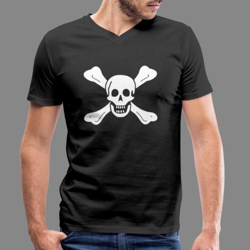 Richard Worley Flag - T-shirt bio col V Stanley & Stella Homme