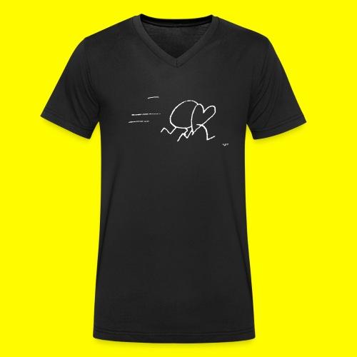 Herzkreislauf - Men's Organic V-Neck T-Shirt by Stanley & Stella