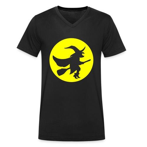hexe_1farbig - Männer Bio-T-Shirt mit V-Ausschnitt von Stanley & Stella