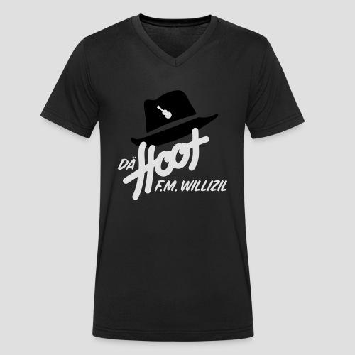 daeHoot_Shirt_Logo1_2c - Männer Bio-T-Shirt mit V-Ausschnitt von Stanley & Stella