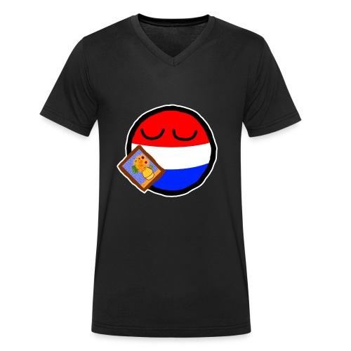 Netherlandsball - Men's Organic V-Neck T-Shirt by Stanley & Stella