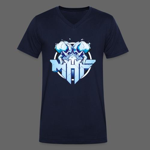 MHF New Logo - Men's Organic V-Neck T-Shirt by Stanley & Stella