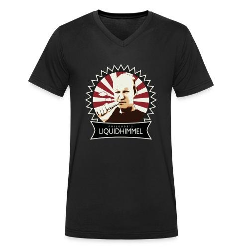 liquidhimmel_weiß - Männer Bio-T-Shirt mit V-Ausschnitt von Stanley & Stella