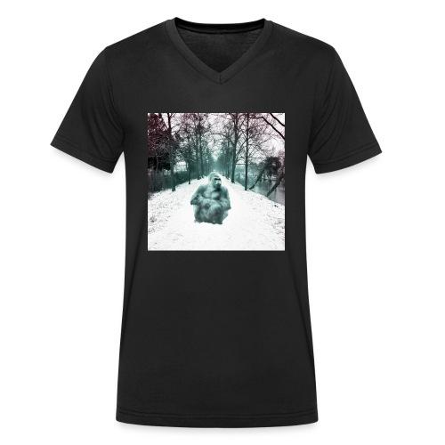 City Winter Jungle - Männer Bio-T-Shirt mit V-Ausschnitt von Stanley & Stella
