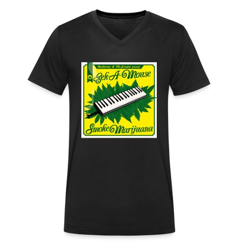 Smoke Marijuana - Men's Organic V-Neck T-Shirt by Stanley & Stella