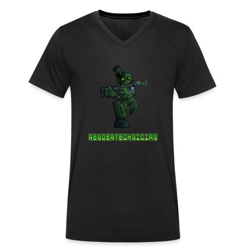 RenderTechnician V3 (Women's Tshirt) - Men's Organic V-Neck T-Shirt by Stanley & Stella