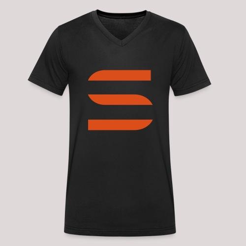 Trainingsjacke - vorne - Männer Bio-T-Shirt mit V-Ausschnitt von Stanley & Stella