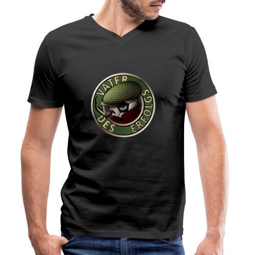 Vater des Erfolgs 04 - Männer Bio-T-Shirt mit V-Ausschnitt von Stanley & Stella
