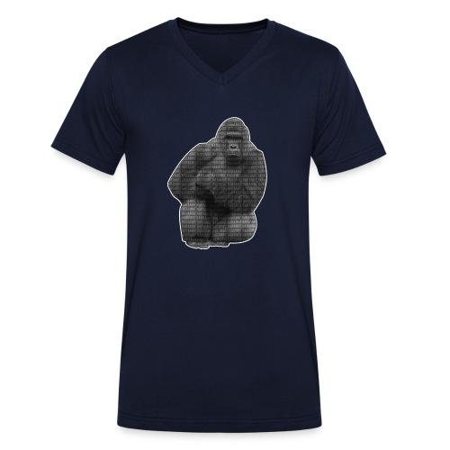 harambe 2k png - Økologisk Stanley & Stella T-shirt med V-udskæring til herrer
