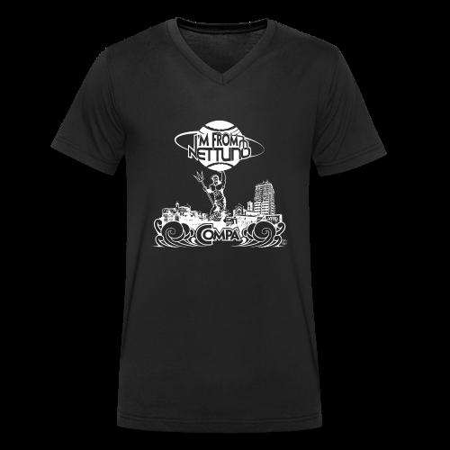 I'M FROM NETTUNO - T-shirt ecologica da uomo con scollo a V di Stanley & Stella