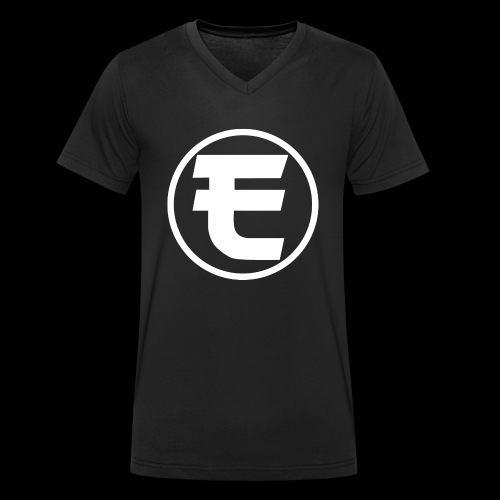 Evanus T-Shirt Officieel - Mannen bio T-shirt met V-hals van Stanley & Stella