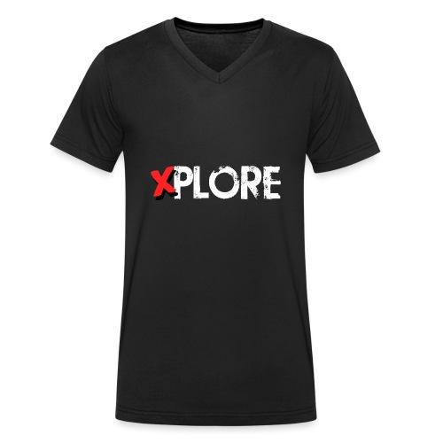 Xplore - Lost Places Exploring - Männer Bio-T-Shirt mit V-Ausschnitt von Stanley & Stella