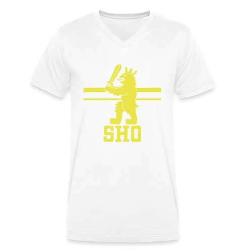 SHO Satakunta - Stanley & Stellan miesten luomupikeepaita