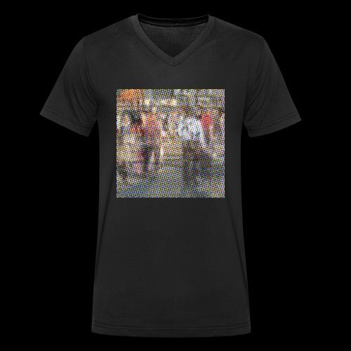 NewYork_GroundZero.jpg - Männer Bio-T-Shirt mit V-Ausschnitt von Stanley & Stella