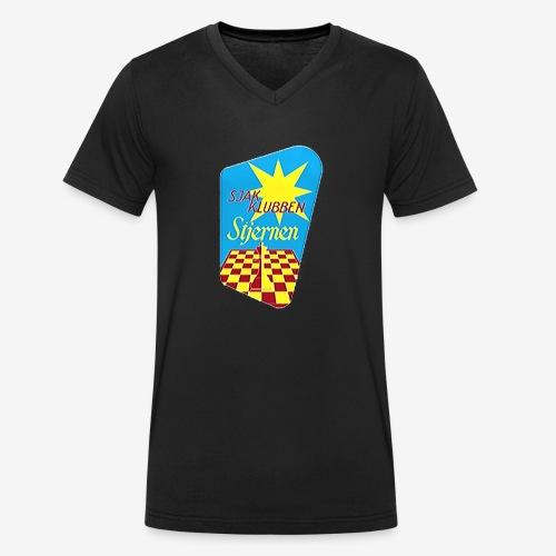 Stjernen logo liksom ikke bruk - Økologisk T-skjorte med V-hals for menn fra Stanley & Stella