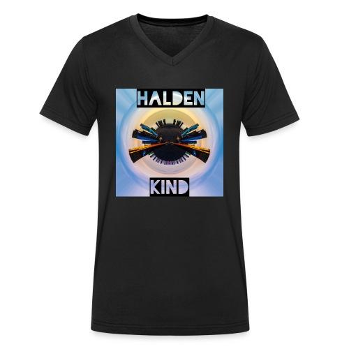Halden Kind - Männer Bio-T-Shirt mit V-Ausschnitt von Stanley & Stella