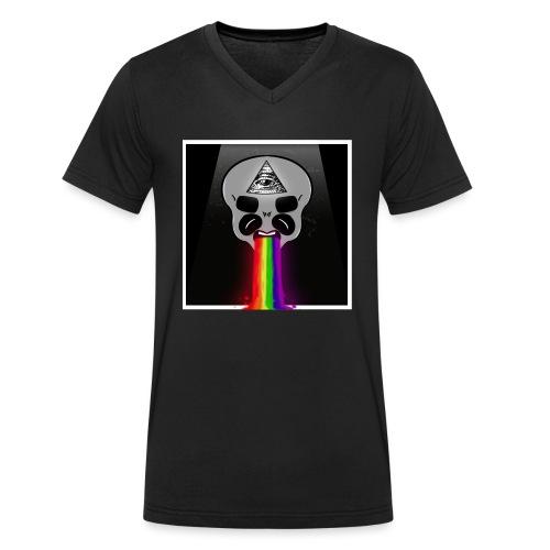 Alien Had - Männer Bio-T-Shirt mit V-Ausschnitt von Stanley & Stella