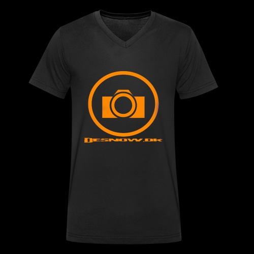 Orange 2 png - Økologisk Stanley & Stella T-shirt med V-udskæring til herrer