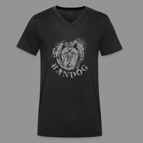 Bandog - Men's Organic V-Neck T-Shirt by Stanley & Stella