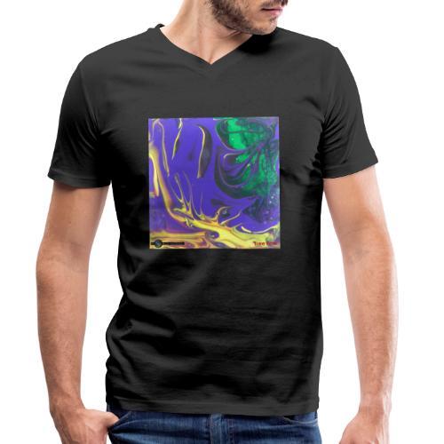 TIAN GREEN Mosaik DK010 - Free flow - Männer Bio-T-Shirt mit V-Ausschnitt von Stanley & Stella