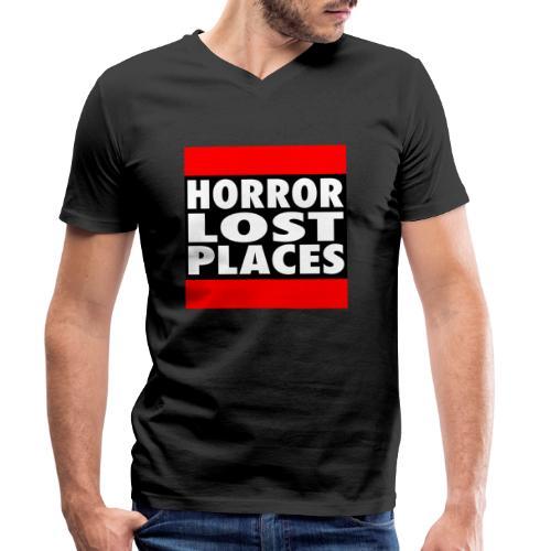 Horror Lost Places - Männer Bio-T-Shirt mit V-Ausschnitt von Stanley & Stella