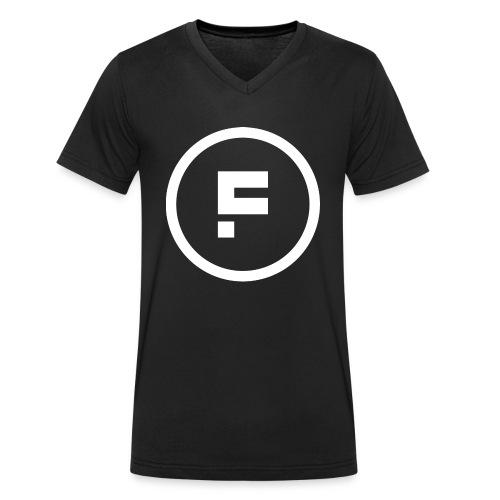 Logo_Rond_3500x3500 - Mannen bio T-shirt met V-hals van Stanley & Stella