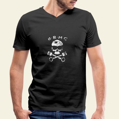 BRMC - Økologisk Stanley & Stella T-shirt med V-udskæring til herrer