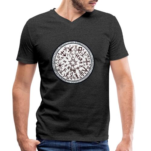 Suerte Vikinga 2 - Camiseta ecológica hombre con cuello de pico de Stanley & Stella