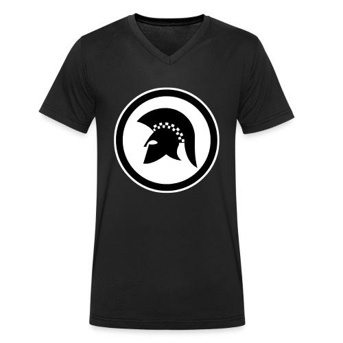trojan Ska-reggae Zeichen - Männer Bio-T-Shirt mit V-Ausschnitt von Stanley & Stella