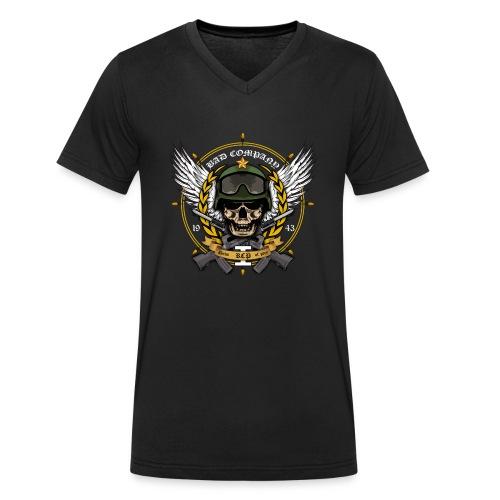 bad company - Men's Organic V-Neck T-Shirt by Stanley & Stella