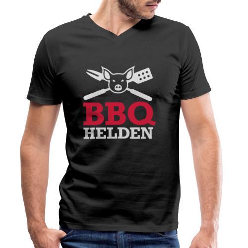 logo diap klein - Mannen bio T-shirt met V-hals van Stanley & Stella
