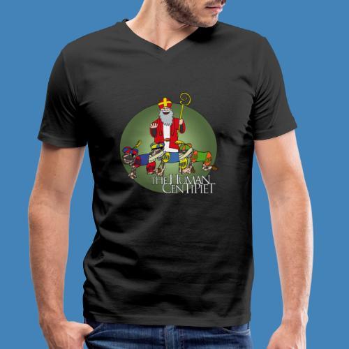 The Human Centipiet - Mannen bio T-shirt met V-hals van Stanley & Stella