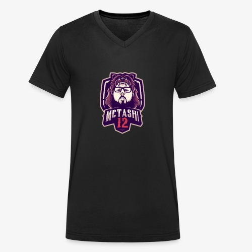 metashi12 - 2019 Logo - Männer Bio-T-Shirt mit V-Ausschnitt von Stanley & Stella