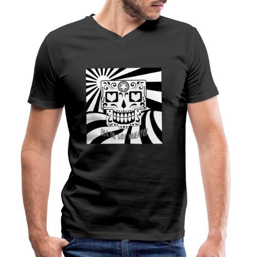 dia de los muertos - Männer Bio-T-Shirt mit V-Ausschnitt von Stanley & Stella