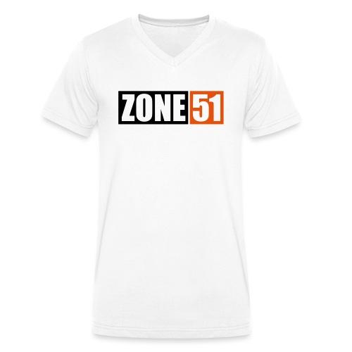 ZONE 51 - ACCES INTERDIT - T-shirt bio col V Stanley & Stella Homme