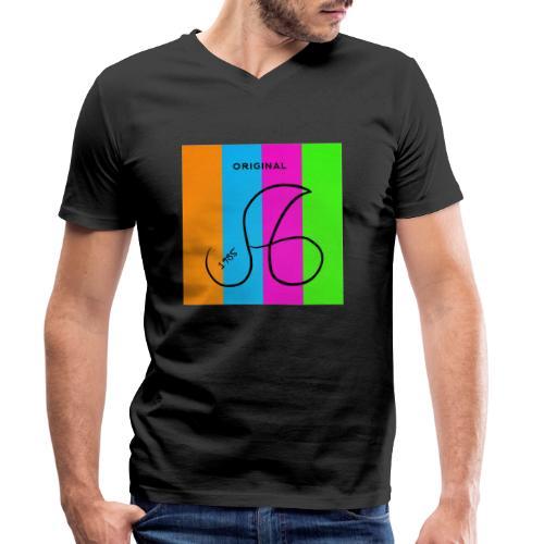 Ag2 - Männer Bio-T-Shirt mit V-Ausschnitt von Stanley & Stella